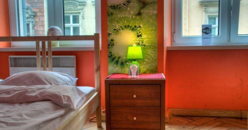 Make cheap reservations at a hostel like Tutti Frutti Hostel